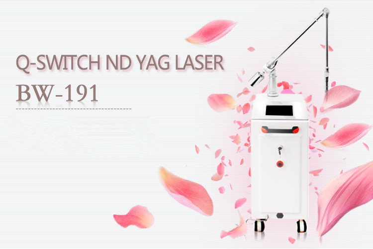 Q-switched Nd Yag Laser Tattoo Removal Machine Lim...