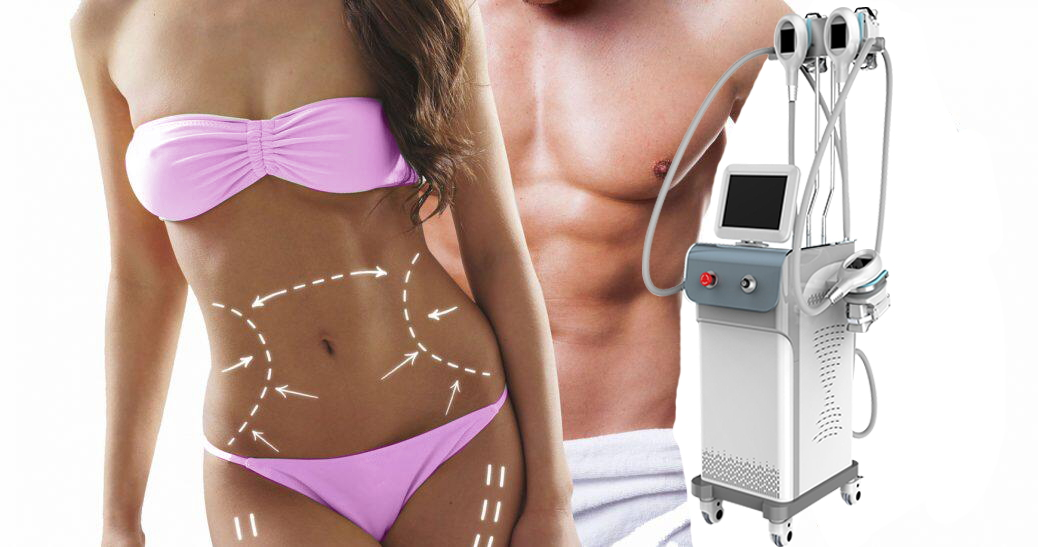Cryolipolysis fat freezing machine will be sent to...